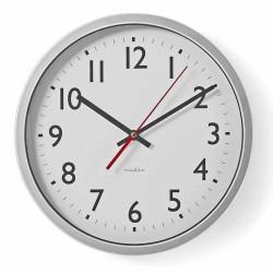 Relógio de Parede Analógico Branco 30Cm - Nedis
