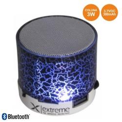 Coluna Bluetooth Portátil 3w SD/Bat/Led Branco