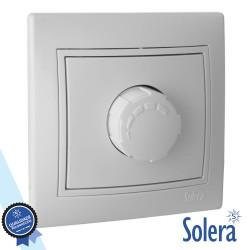 Regulador De Luz Interior Parede Branco 800w - Solera