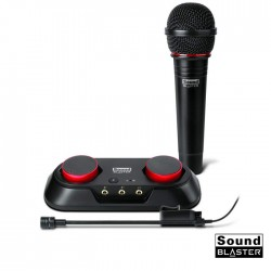 Placa De Som Audio Recording Starter KIT Youtube - Creative Sound Blaster R3y
