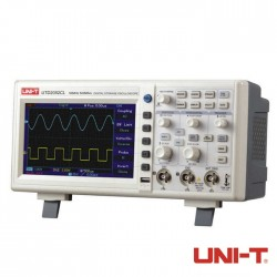 Osciloscópio Digital 50MHz de 2 canais - Uni-T