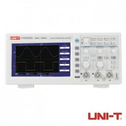 Osciloscópio Digital USB 25MHz 2 Canais - Uni-T