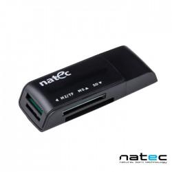 Leitor Cartao Memoria USB2.0 SD/Micro SD/MMC/MS - Natec