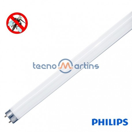 Lâmpada fluorescente anti-insectos T5 8W/10 Ø16x295.4mm - Philips
