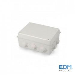 Caixa Estanque Derivação 160x120x71mm C/ Parafusos - EDM