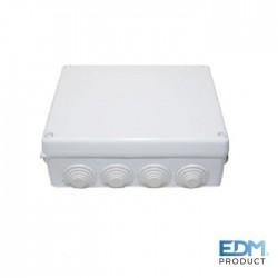 Caixa Estanque Derivação 220x170x80mm C/ Parafusos - EDM