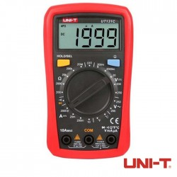 Multimetro Digital Ac-Dc True Rms 600v - Uni-T