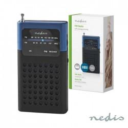 Rádio Portátil AM/FM De Bolso Coluna 1.5 A Pilhas - Nedis