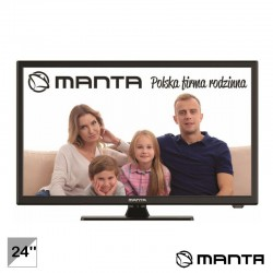 "TV LED 24"" HD HDMI USB 230/12V - Manta"