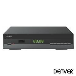 Receptor TDT Full HD 1080p DVB-T2 Canais USB DENVER