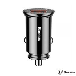 Carregador de Isqueiro 12/24VDC - 2xUSB Quick Charge 3.0 - 5V 5A - BASEUS