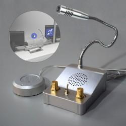 Intercomunicador C/ Microfone Bi-Direcional P/ Vidro