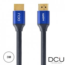 Cabo Hdmi (HDTV) M/M 2.0 4K Blue Edition 3mt - Dcu
