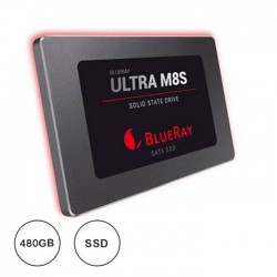 "Disco Ssd 480gb M8s 3d 2.5"" - Blueray Ultra"