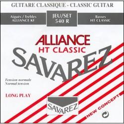 Jogo de Cordas Tensão Forte P/ Guitarra Clássica - Savarez