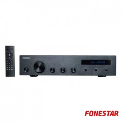 Amplificador Audio Hi-Fi Bluetooth/USB/MP3/FM - Fonestar