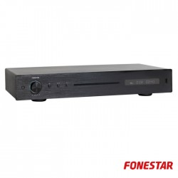 Leitor CD / USB / MP3 C/ Comando - Fonestar