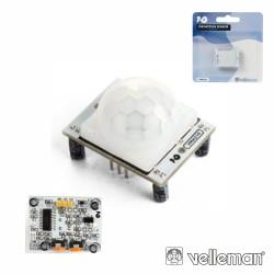 Sensor Movimento PIR Compatível C/ Arduino - Velleman
