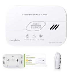 Detector Monóxido Carbono 85dB Branco - Nedis