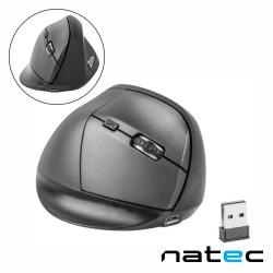 Rato Óptico Vertical S/ Fios 1200-2000DPI USB Preto - NATEC