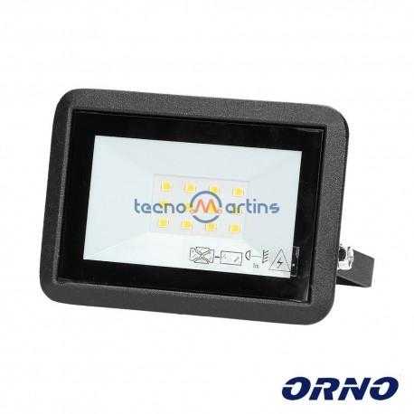 Foco LED 10W 230V 4000k 800lm Preto - ORNO