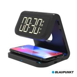 Relógio Despertador Qi USB BLAUPUNKT