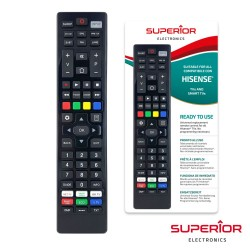 Comando Univ. Superior Smart Tv - Hisense