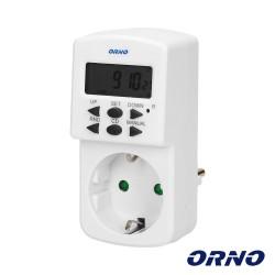 Temporizador Digital Ajustável 24h - ORNO