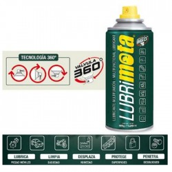 Spray Lubrificante Multifunções 125ml - LUBRIMOTA