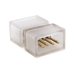 União P/ Fita De LED Borracha 4P RGB IP65 - Avide