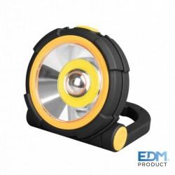 Lanterna LED 150lm 2 Potencias + Luz de Emergência - EDM