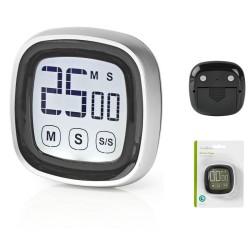 Cronómetro Digital P/ Cozinha Preto - Nedis