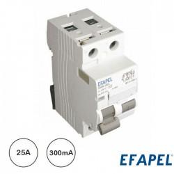 Disjuntor Diferencial 2p 25a 300ma Ac - Efapel