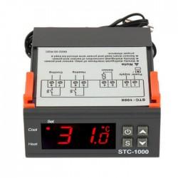 Termostato Digital 100-2200vAc C/ Besouro + Sonda NTC (-50º..110ºC)