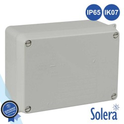 Caixa Estanque 153x110x65mm IK07 IP65 Lisa - Solera