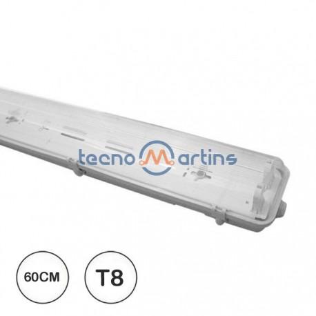 Luminária para Exterior para tubo LED 2x 600mm G13 230V IP65