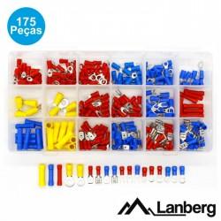Kit 175 Terminais (Forquilha + Redondos + Faston) - Lanberg