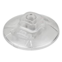 Interruptor Ac De Pé 2a 250v Redondo Transparente