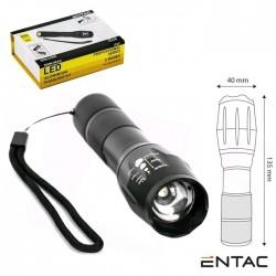 Lanterna-LED-5w-500lm- Zoom IP65 - ENTAC