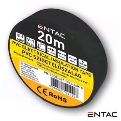 Fita Isoladora 0.13x19mm 20mt Preta - ENTAC