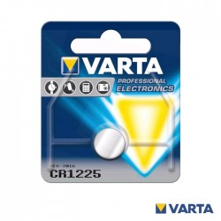 Pilha Litio CR1225 3V - Varta