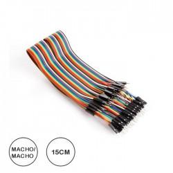 Cabos Ligação Macho Macho (40unid) C/30cm P/Board