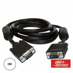 Cabo VGA 3mt M/M C/ Filtro