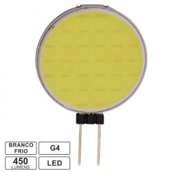 Lampada LED G4 12V 4.5W Cob Branco Frio 450lm