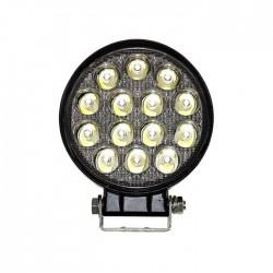Projector LED 14x 3W 9V-80V IP68 6000k 1660lm Off Road