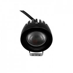 Projector LED 1x 10W 12V-36V IP68 6000..6500k 950lm Off Road