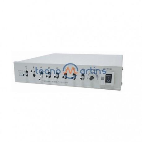 Sequenciador Automático 8 Entr. Preto/Branco/Cor Para Cam. Video Velleman