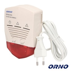 Detector Gas C/ Alarme - Orno