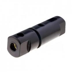 Porta-Fusível de Parafuso p/Cabo para Fusíveis Cilíndricos Ø5x20mm