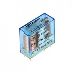 Relé 24VDC / 10A SPDT- Finder